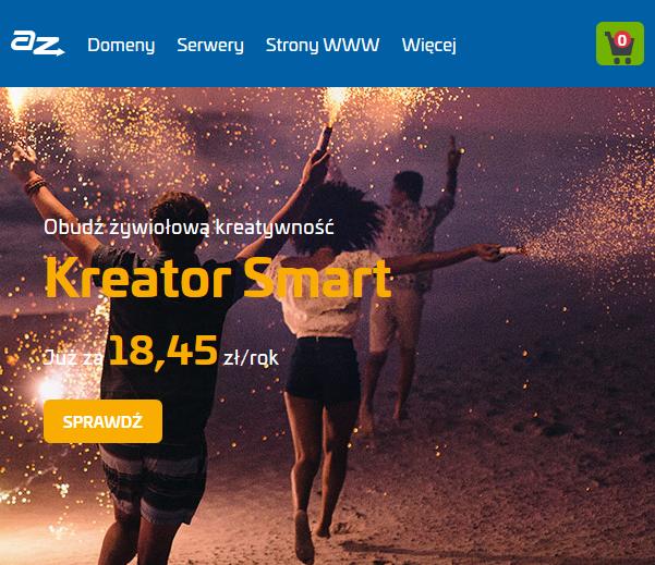 Nowa, mobilna strona WWW AZ.pl - szybki dostęp do usług.