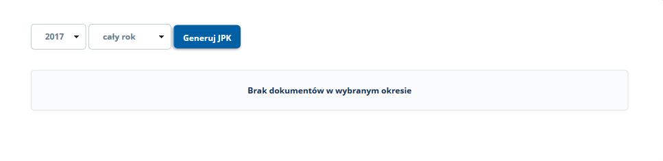 JPK Jednolity Plik Kontrolny - Fakturowanie AZ.pl