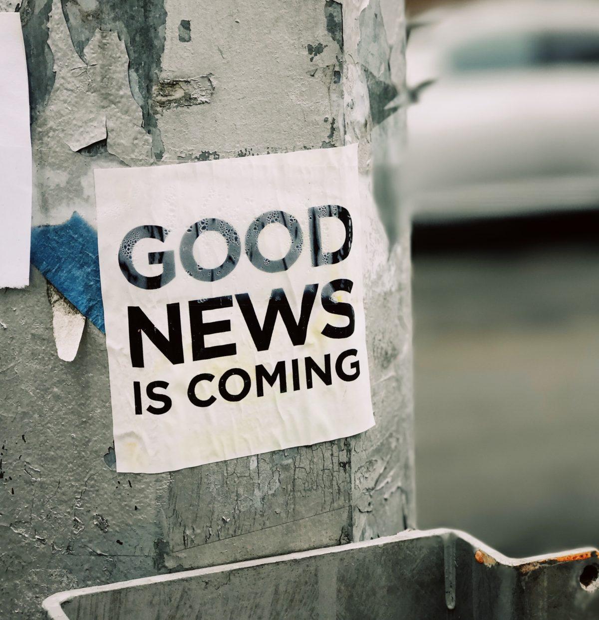 Dobre wiadomości ze świata